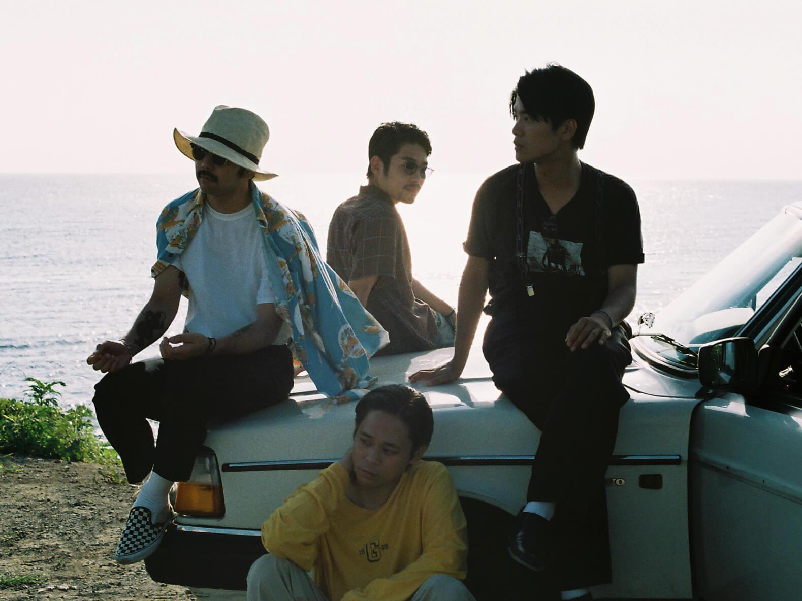 Yogee New Waves、3rdアルバム「BLUEHARLEM」のリリースを発表