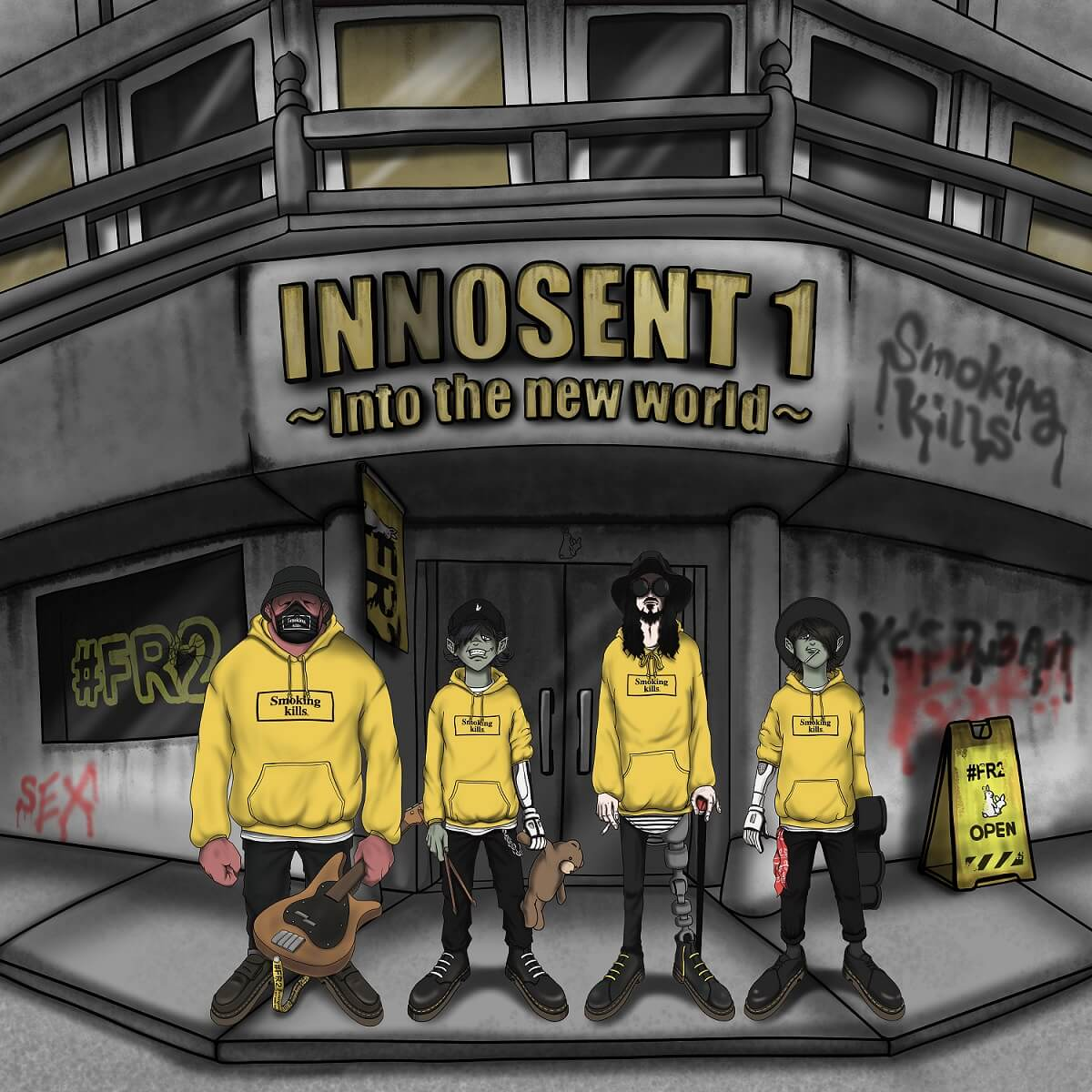 INNOSENT in FORMAL、2ndミニアルバムより「Jackin' Rock Beats」先行配信決定サムネイル画像