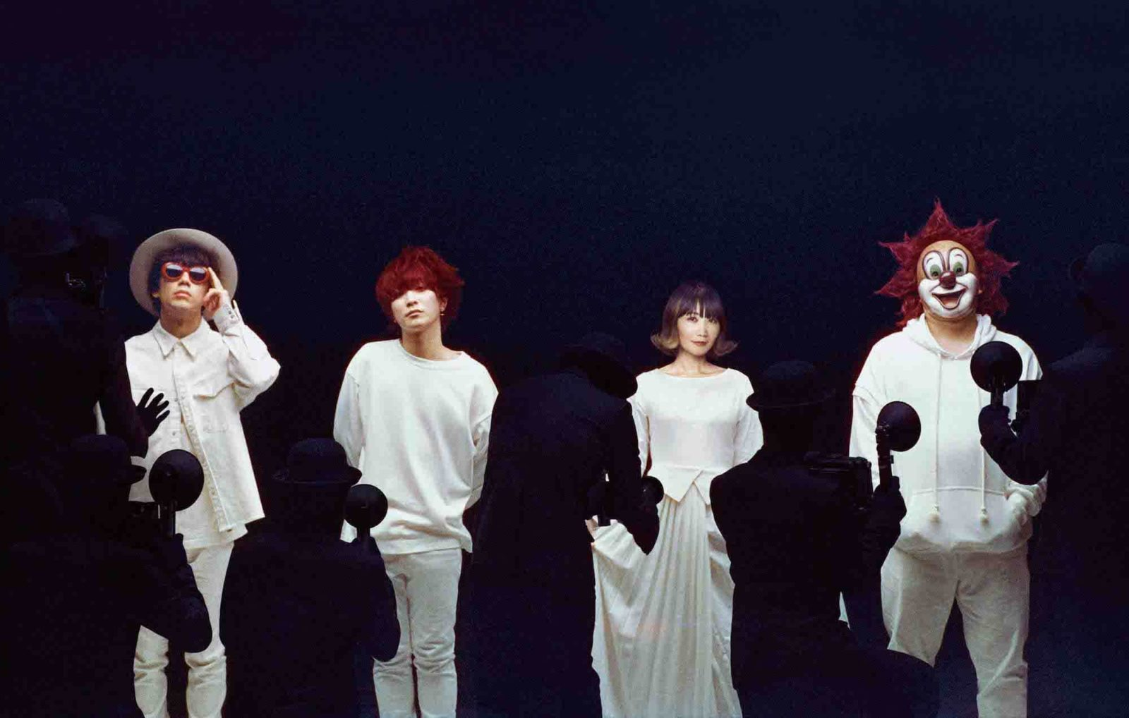 SEKAI NO OWARI「Eye」「Lip」新アーティスト写真&全収録楽曲発表サムネイル画像