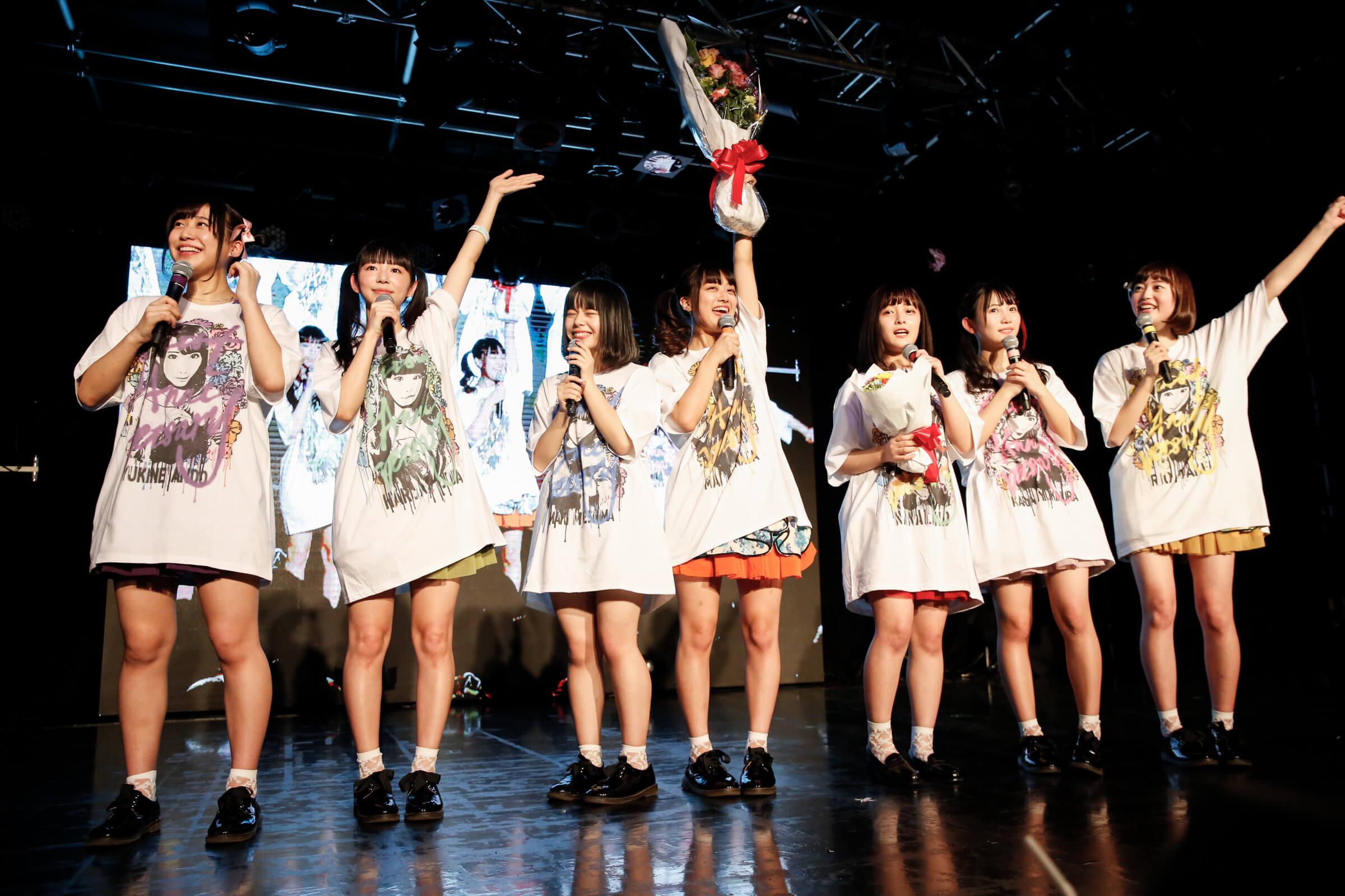 ナナランド、新メンバー笹原琴音がお披露目!結成1周年記念ライブで全力パフォーマンス