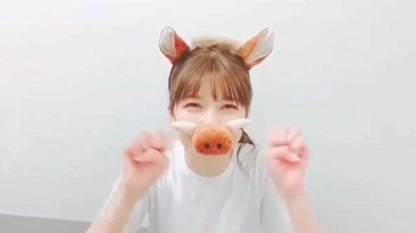 AAA宇野実彩子、イノシシ姿の新年動画にファン歓喜「飼いたい…」「可愛さ爆発」サムネイル画像