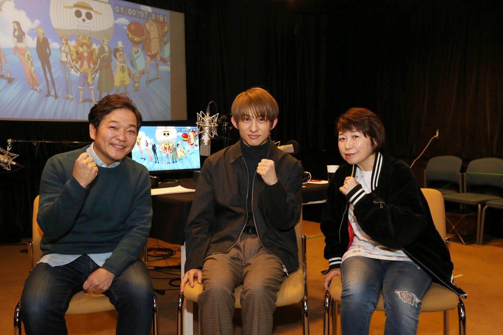 V6 三宅健がワンピース史上初の副音声に挑戦! さらにアニメ声優にも初挑戦で、本編に出演サムネイル画像