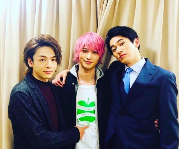 横浜流星、中村倫也と永山絢斗との3ショットにファン歓喜