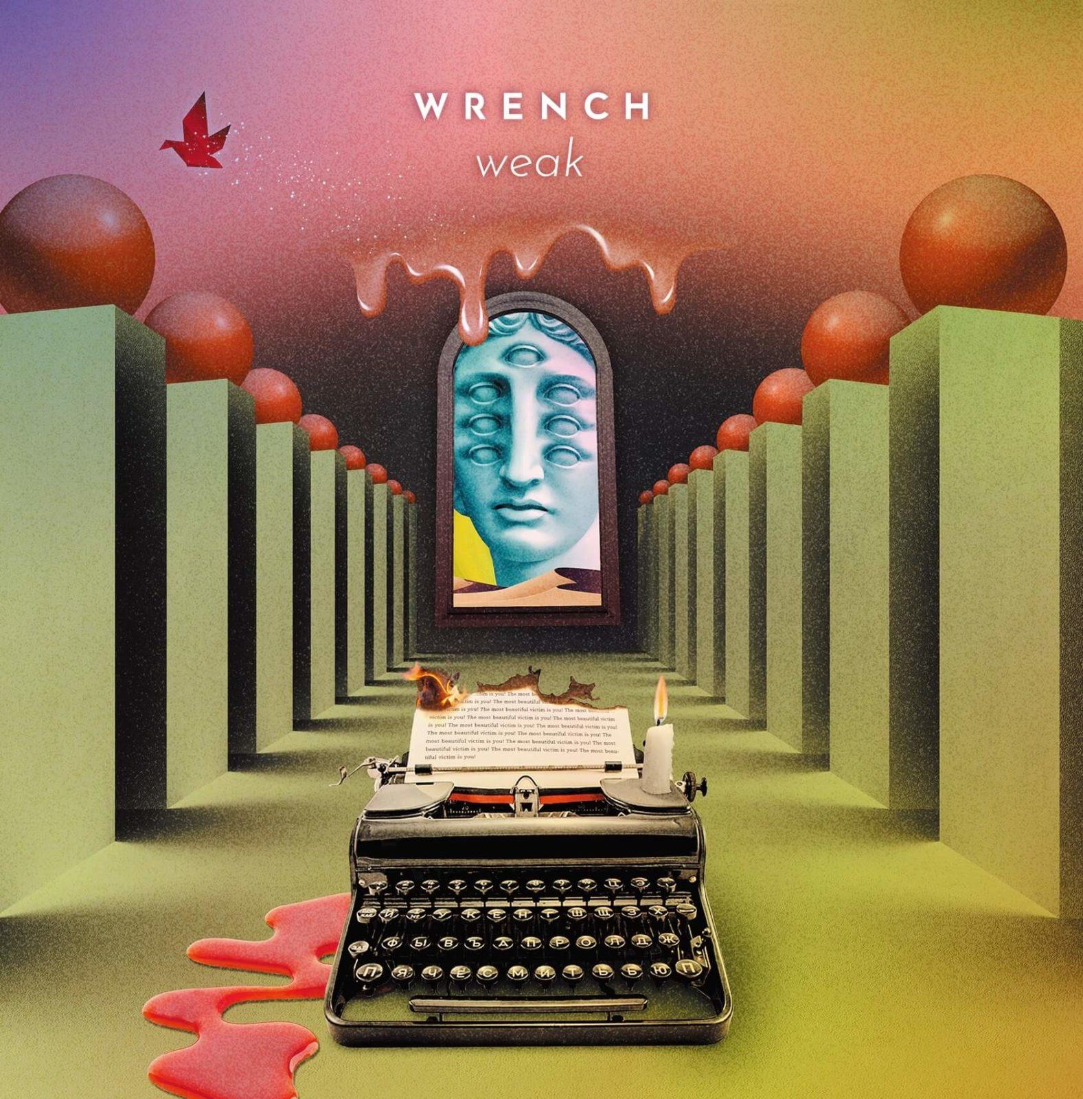 WRENCH、12年ぶりとなるフルアルバム『weak』が発売決定サムネイル画像!