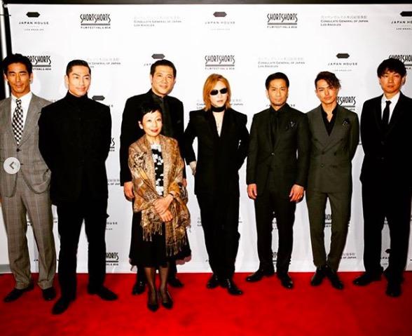 YOSHIKI、EXILEファミリーとの写真にファン歓喜「神メンバー」