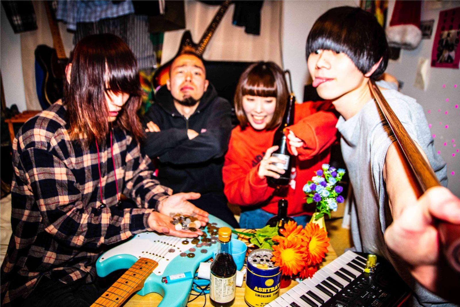 猛中毒性ロックバンド「nee」シングルリリース&レコ発イベント開催決定サムネイル画像