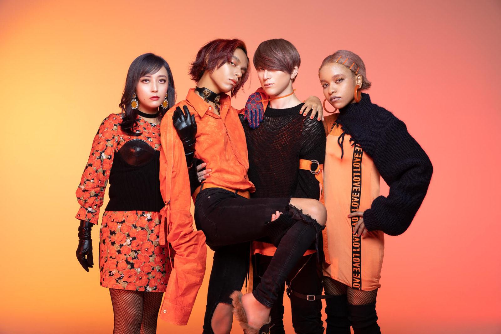 女王蜂、Newシングル「火炎」MUSIC VIDEO公開サムネイル画像
