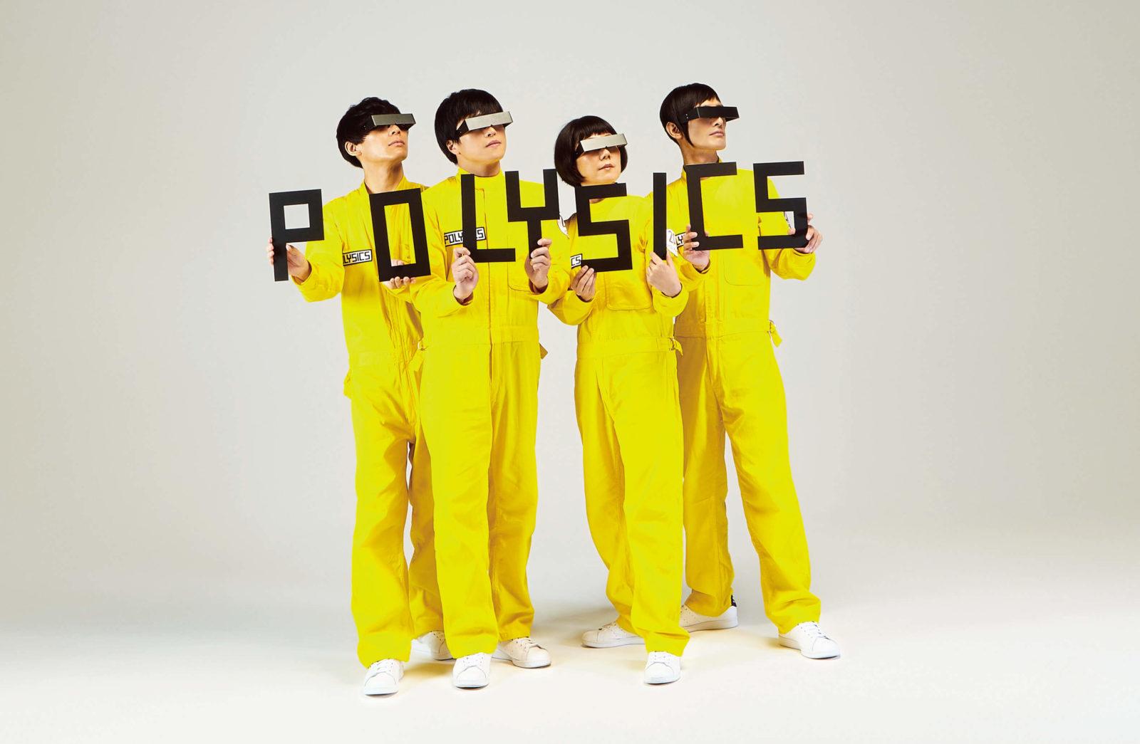今年のPOLYSICSはThe Vocodersとの2本立て!ライブもリリースも2倍サムネイル画像!