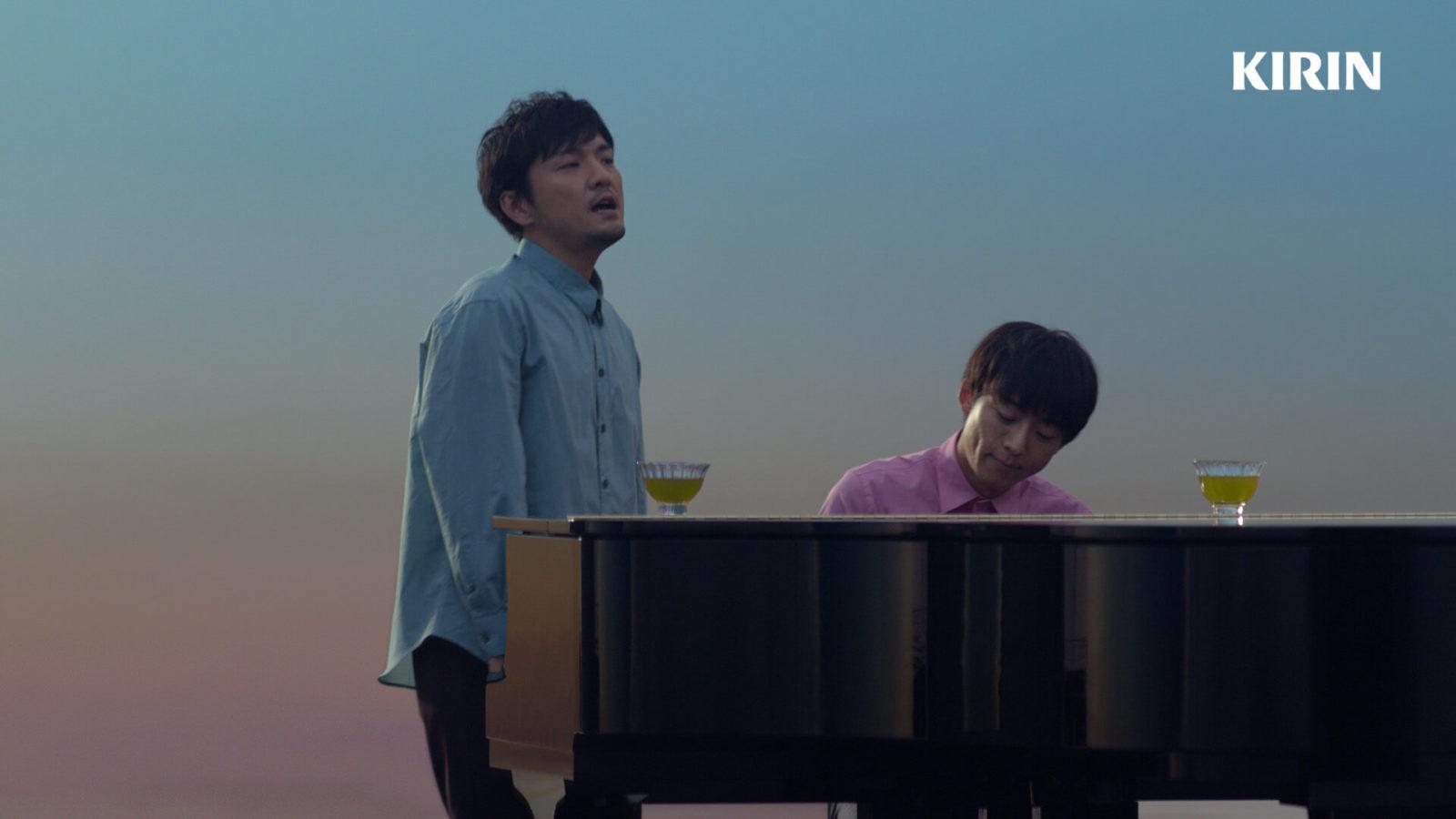 高橋一生、森山直太朗とのCM共演で見せたピアノ演奏姿にファン悶絶「素敵すぎ」サムネイル画像