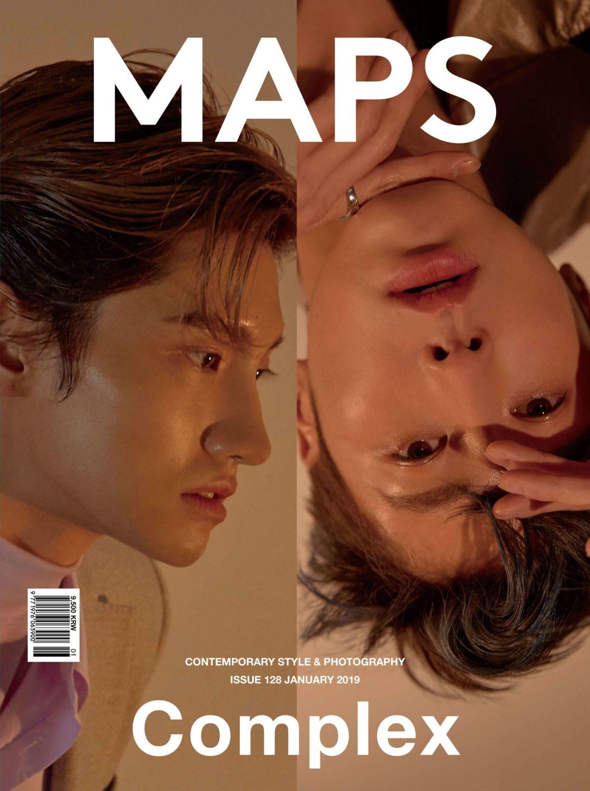 東方神起が表紙を飾った『MAPS』が限定200冊販売&SUPER JUNIOR・イェソンが表紙の4月号も日韓同時発売サムネイル画像