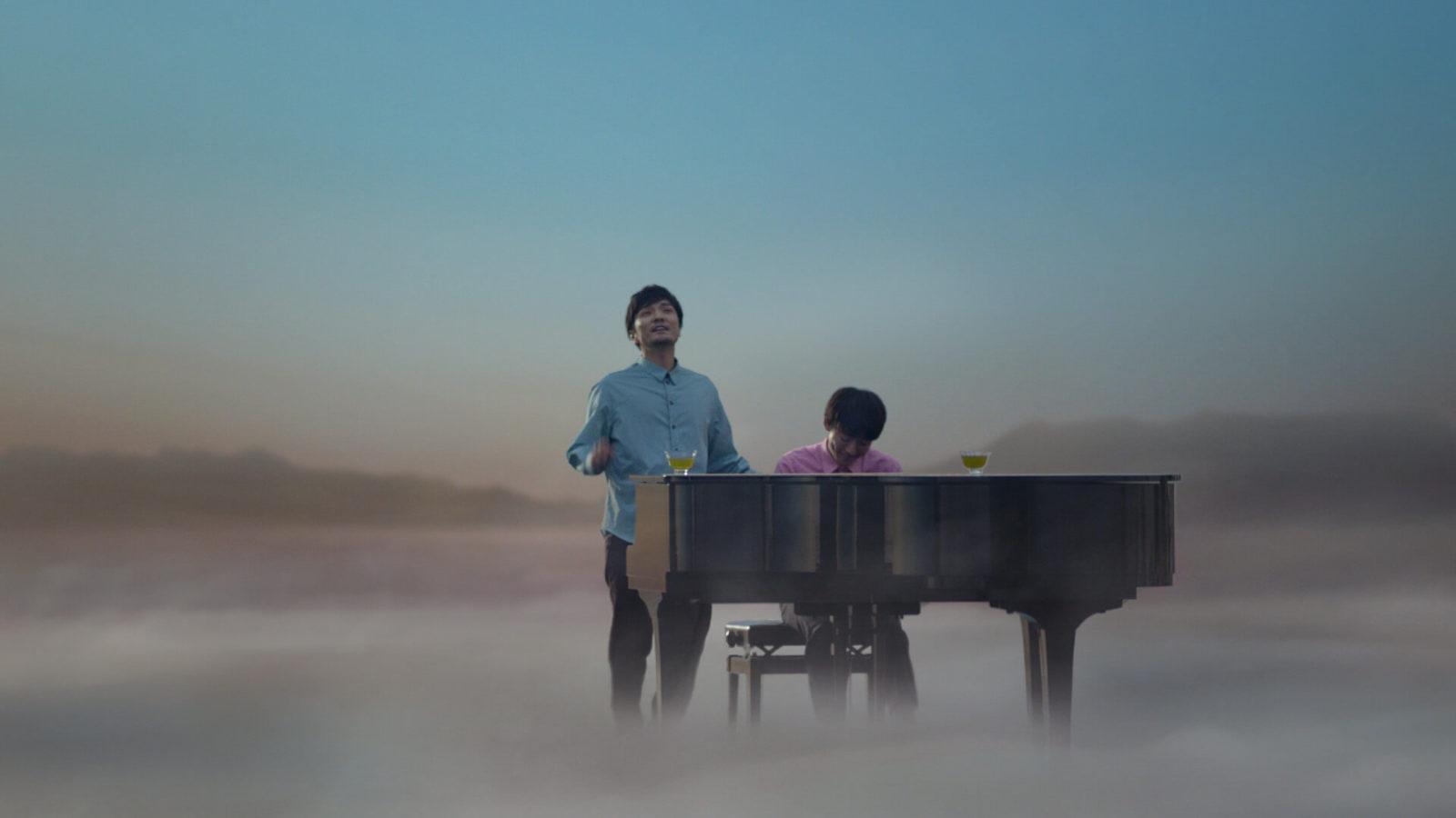 高橋一生、森山直太朗とのCM共演で見せたピアノ演奏姿にファン悶絶「素敵すぎ」