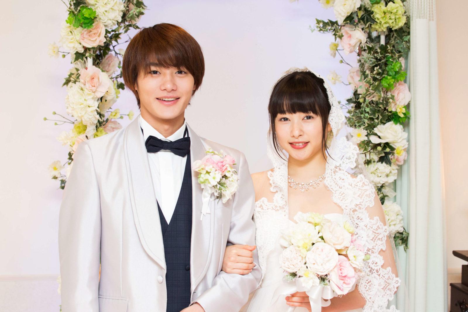 野村周平&桜井日奈子、ウェディング2ショットを公開サムネイル画像