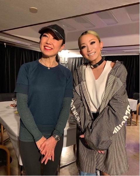 倖田來未、松任谷由美との笑顔2ショット公開で「豪華なツーショット」「貴重」サムネイル画像