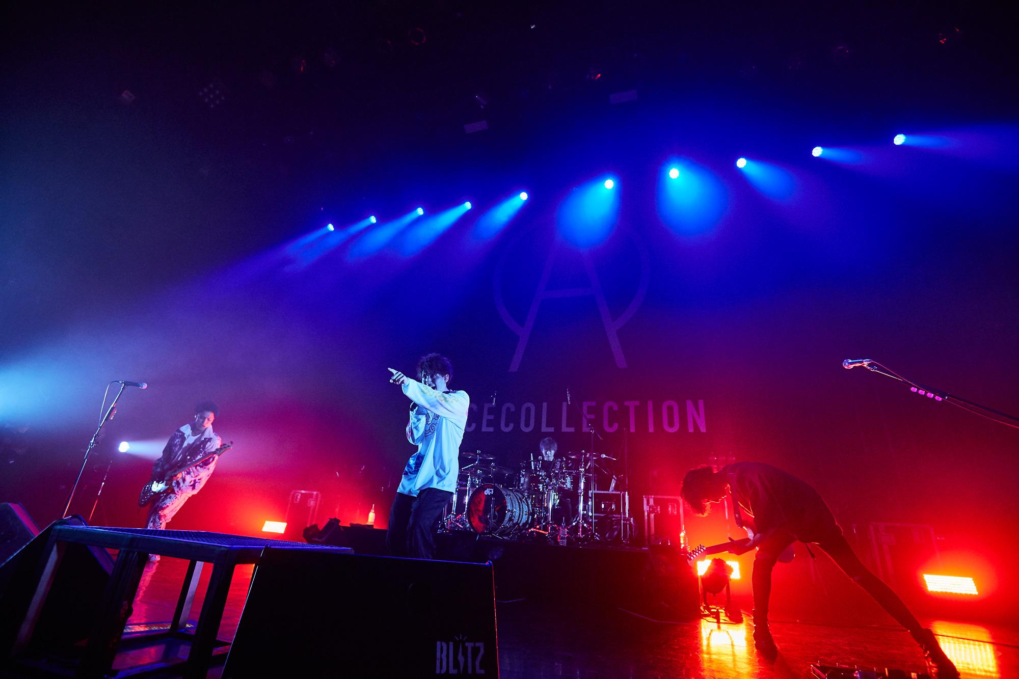 「今日が人生で一番幸せ」初ライブで満員のACE COLLECTIONが圧巻のパフォーマンス