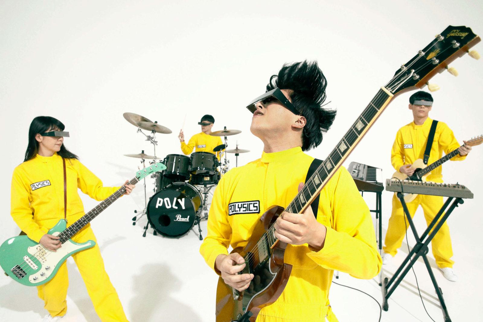 POLYSICS・The Vocoders 同メンバーによる別バンドの同一楽曲、MV2作品一挙公開サムネイル画像