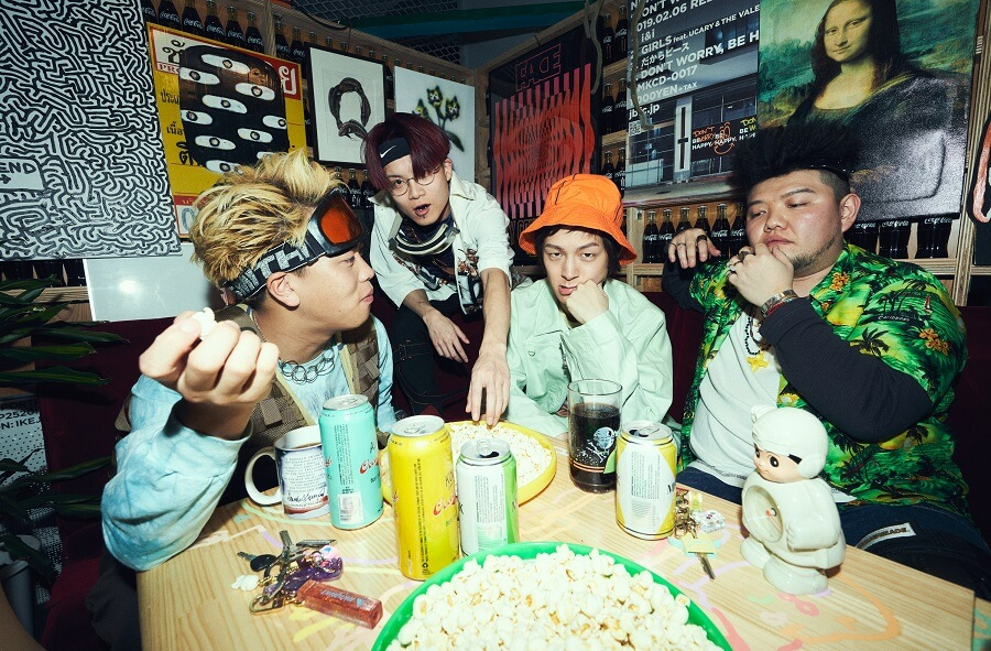 JABBA DA FOOTBALL CLUB、ソニー・ミュージックよりメジャーデビューを発表サムネイル画像