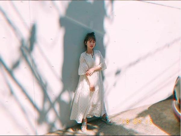 川栄李奈、ハーフアップのダブルピース写真公開に反響「日増しに可愛く」「美しい」