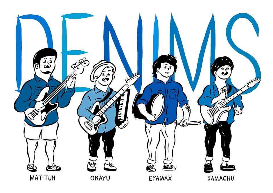 DENIMS 待望の2nd Full Albumのリリースが決定