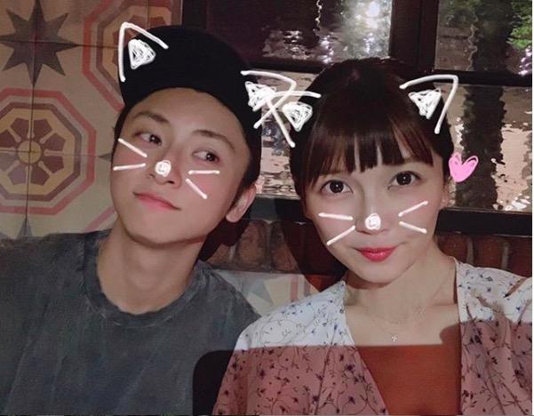 AAA宇野実彩子、與真司郎との2ショット公開し反響「恋人みたい!」「美男美女だ」サムネイル画像