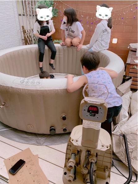 辻希美、自宅用ジャグジー写真公開で「これは思わぬ買い物」サムネイル画像