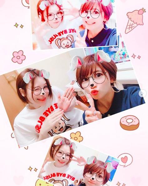 手島優、矢口真里との自宅2ショットを公開「おうちでのんびりご飯」サムネイル画像