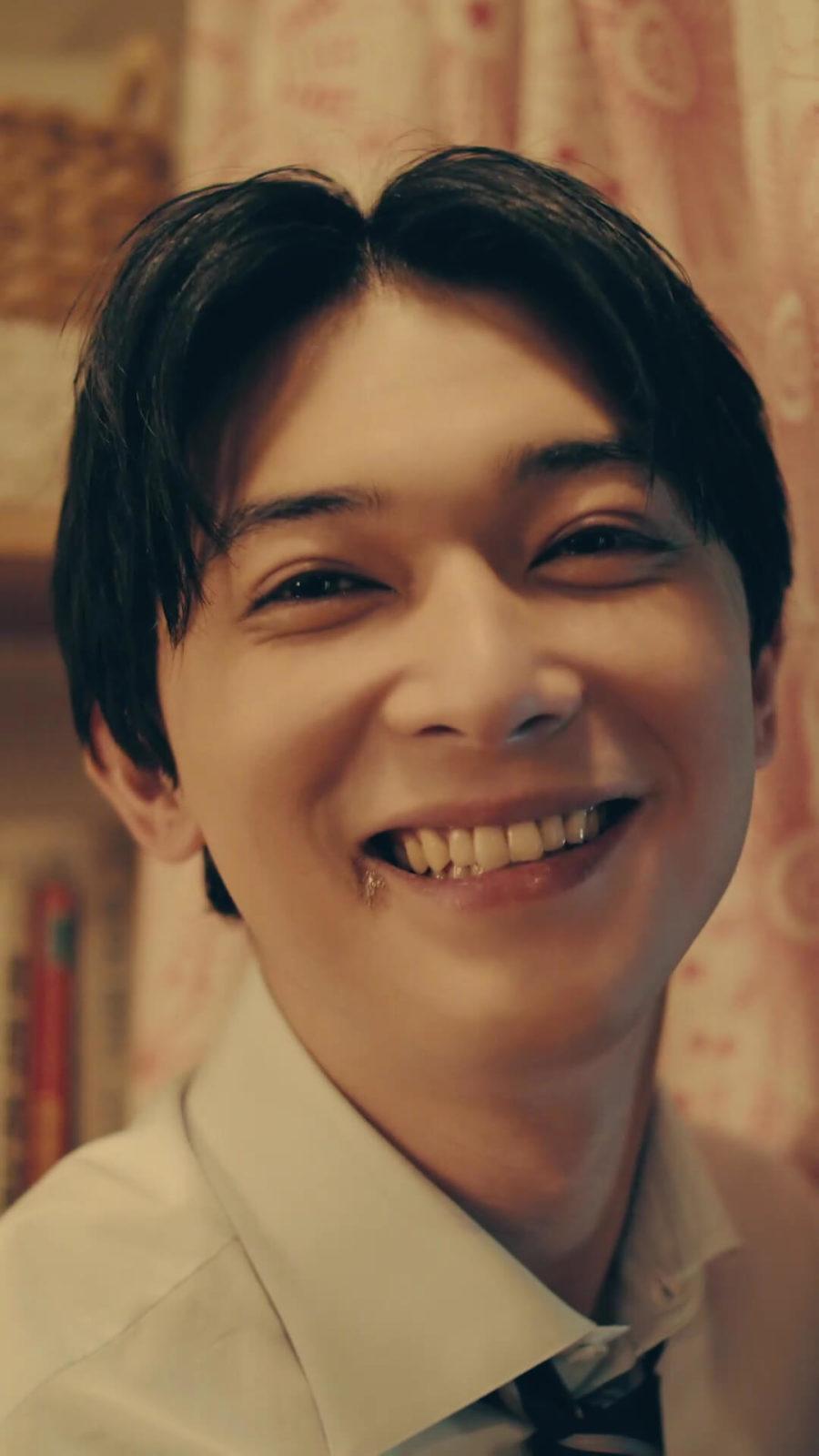吉沢亮 口元にチョコがついている あざとすぎる 演技に初挑戦 E