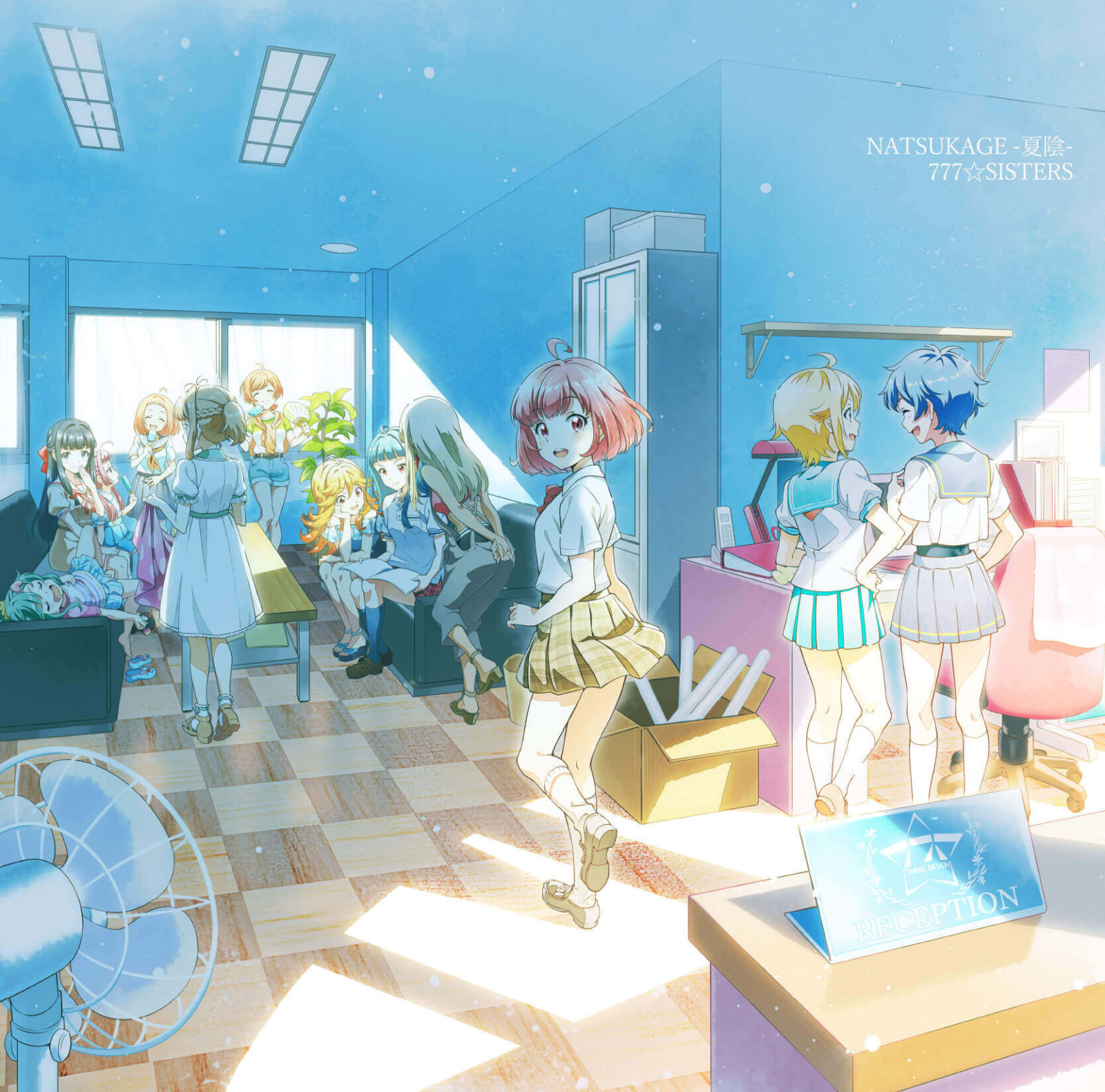 Tokyo 7th シスターズ「EPISODE 4.0 AXiS」EDテーマ777☆SISTERSのニューシングルリリース決定サムネイル画像