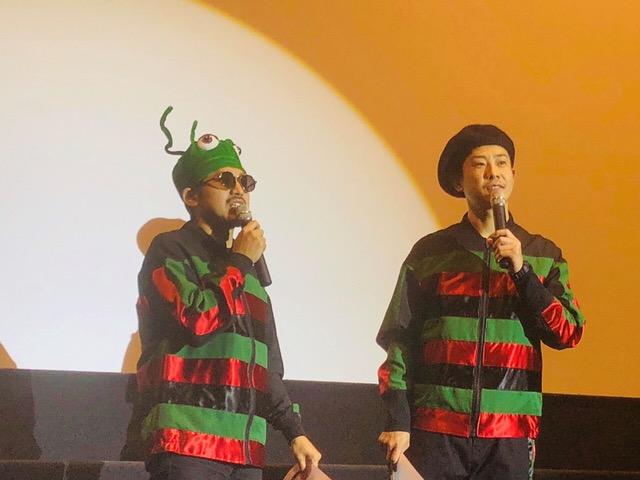 C&K LIVE DVD発売記念先行上映会でのメンバーサプライズ登場に会場歓喜