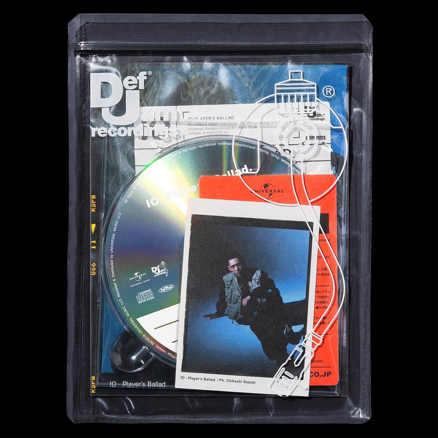 IO(KANDYTOWN)、1stアルバム『Player's Ballad.』のアートワークが公開サムネイル画像