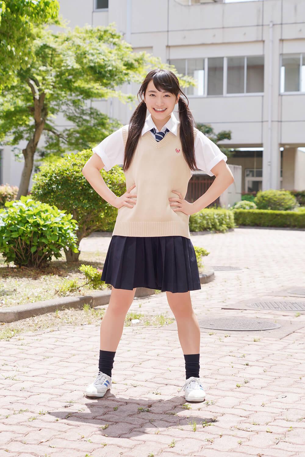 福田愛依、岡田健史主演ドラマのヒロイン・どん子のビジュアル公開サムネイル画像