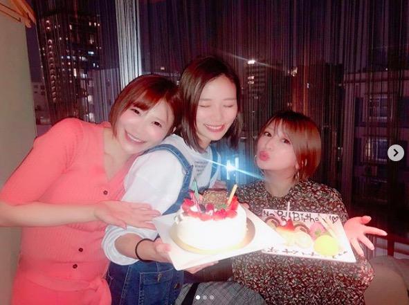 手島優、矢口真里と朝日奈央との誕生日会ショット披露&出会いも明かす「逆ナンして…」サムネイル画像