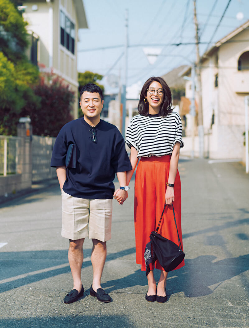 和牛・水田信二、モデルの望月芹名と夫婦役でパパ・ママファッションを披露サムネイル画像