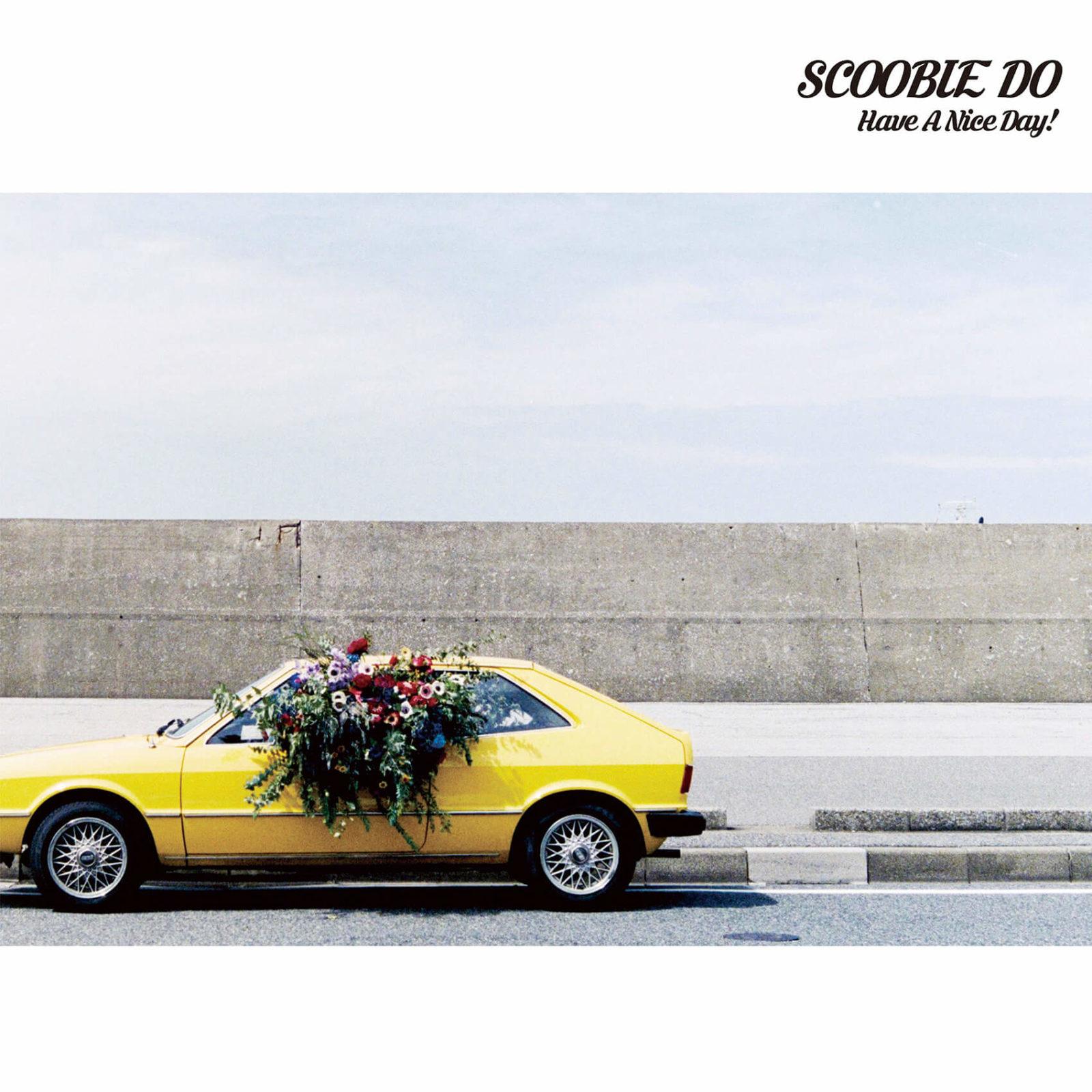 SCOOBIE DO ニューアルバム『Have A Nice Day!』のジャケット公開サムネイル画像
