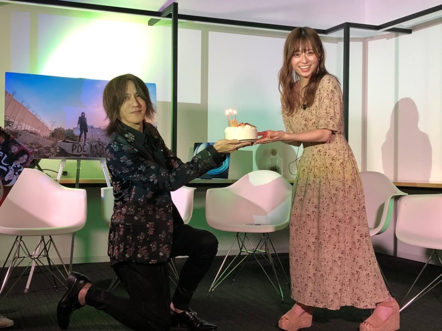 SILENT SIREN、LUNA SEA/X JAPANのSUGIZOとSugizoTubeで初共演&ゆかるんがSUGIZOからサプライズバースデーでお祝い