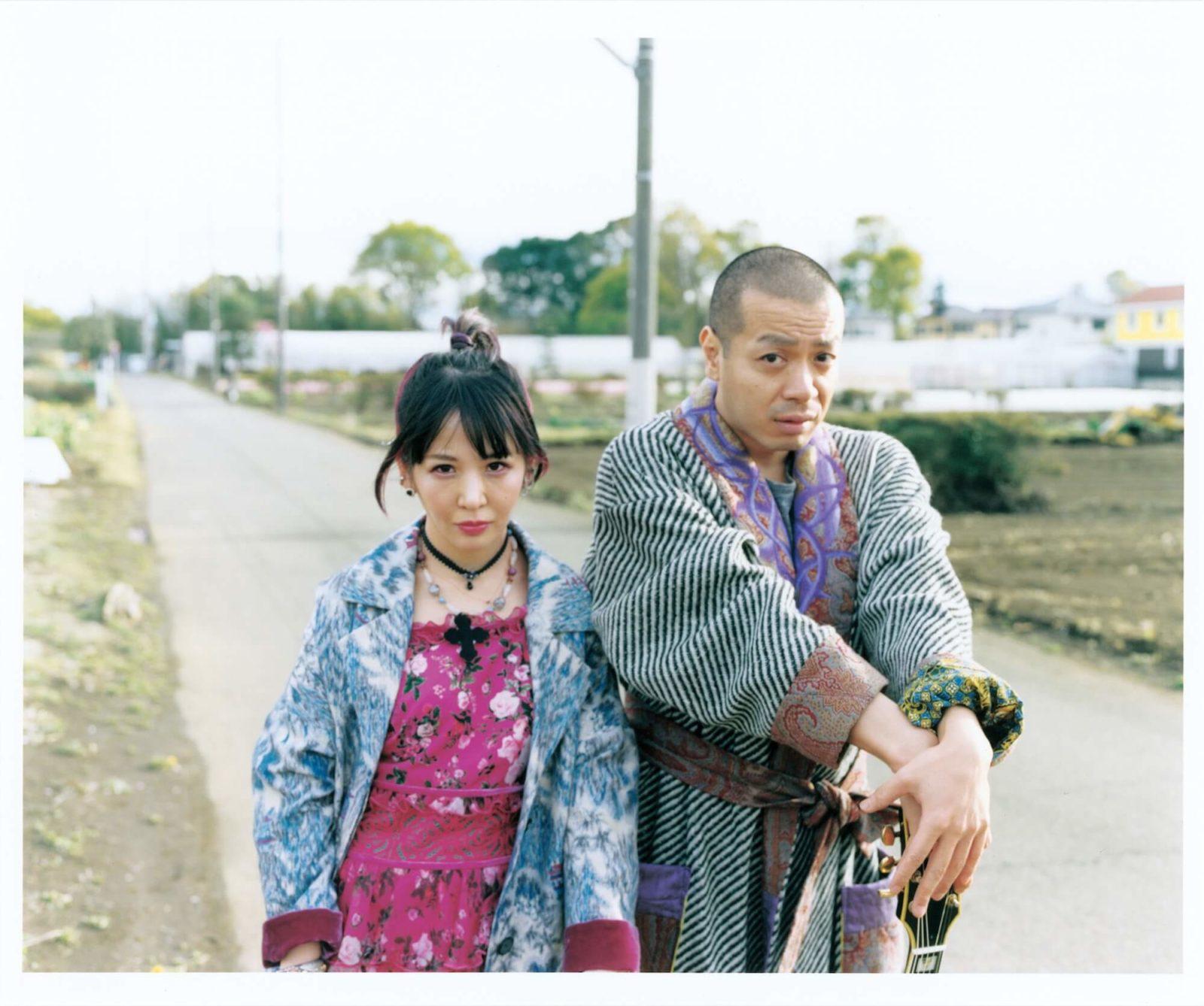 大森靖子、峯田和伸(銀杏BOYZ)と共作した「Re:Re:Love 大森靖子feat.峯田和伸」発売サムネイル画像
