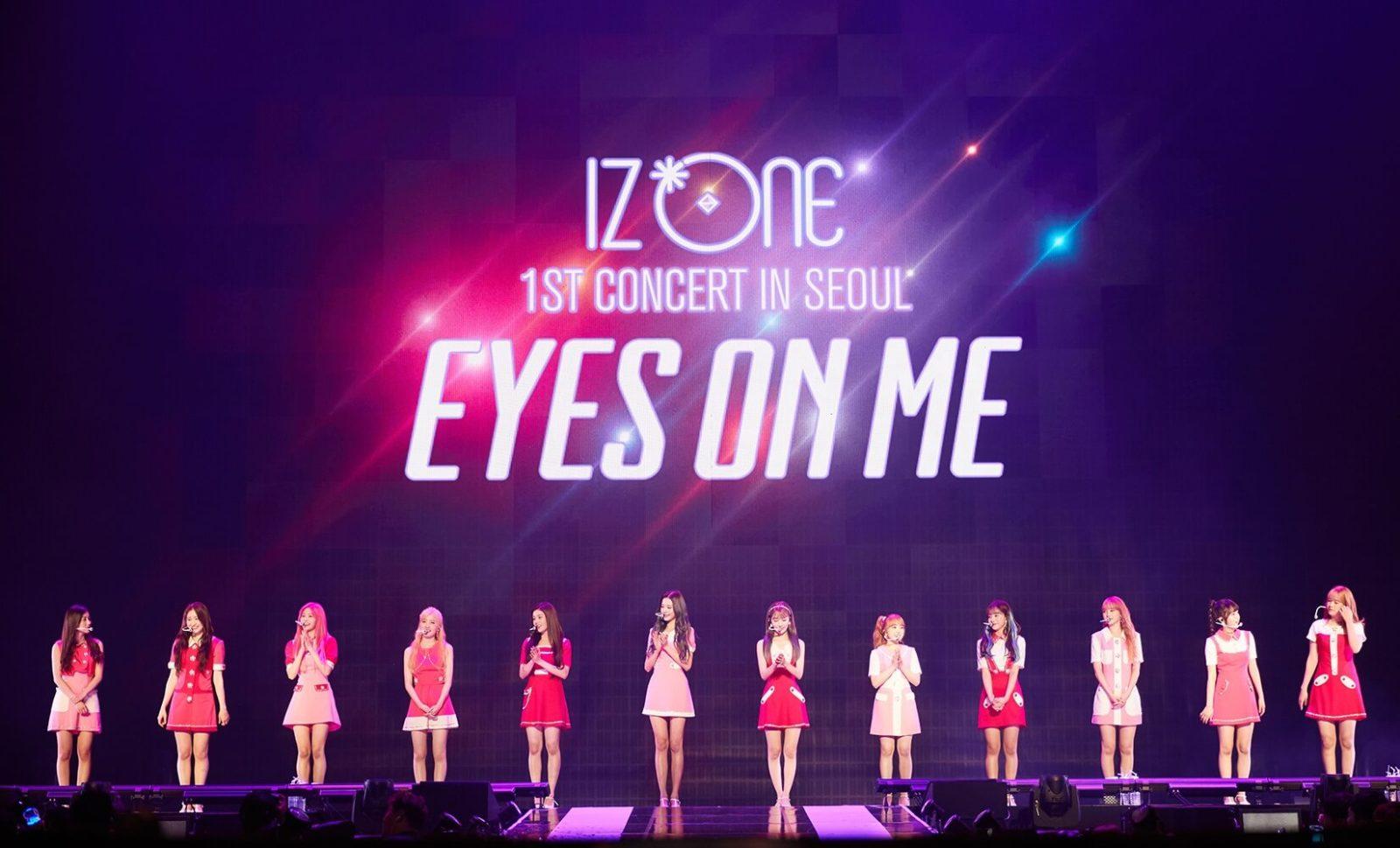 IZ*ONEの初単独コンサートにファン熱狂 日本での初コンサート開催もサプライズ報告サムネイル画像