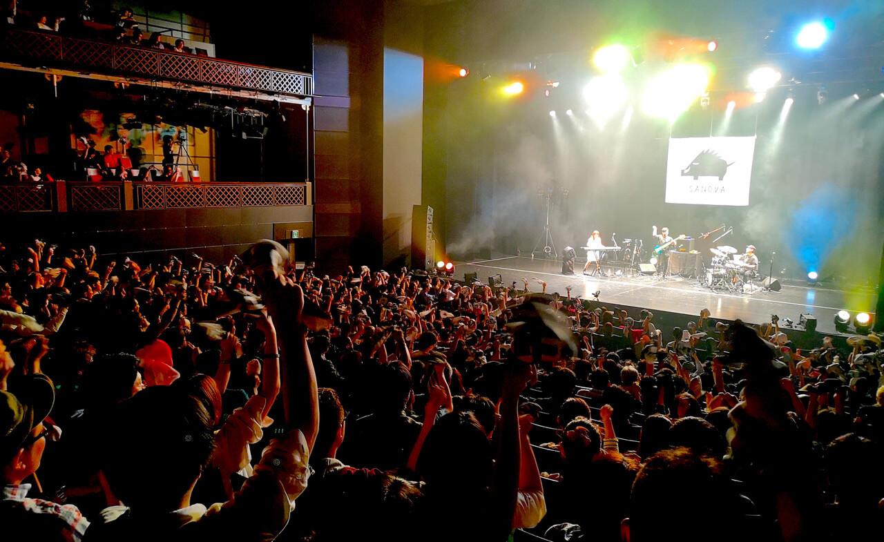 SANOVA、自身最大規模のワンマンが大成功&4thアルバムリリース決定サムネイル画像