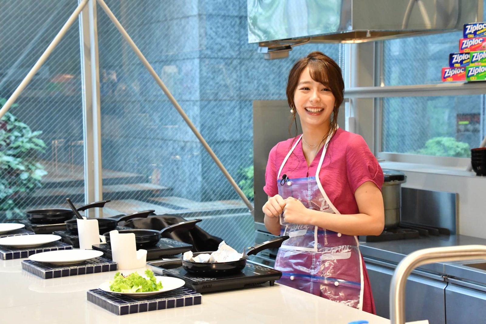 宇垣美里がエプロン姿を披露!時短料理は「ゲームみたいで私は好き」画像103017