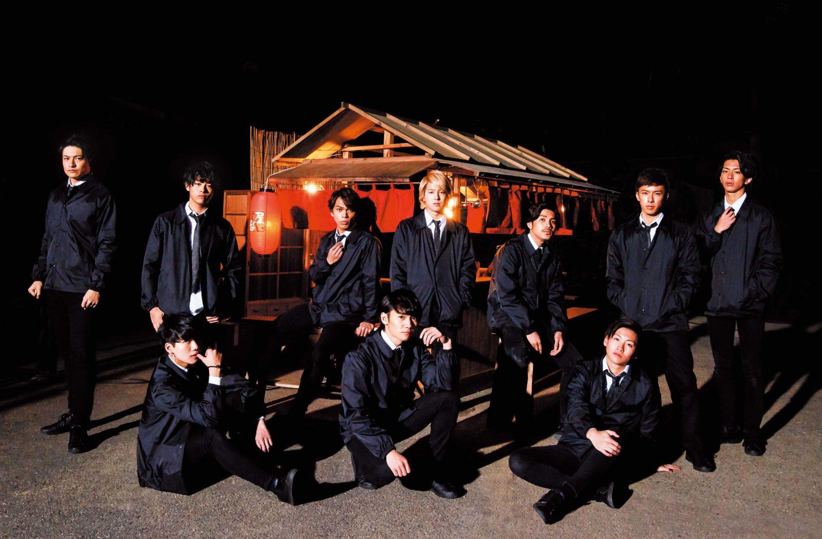 10神ACTOR、レーベル立ち上げ&あえての九州メジャーデビュー決定サムネイル画像