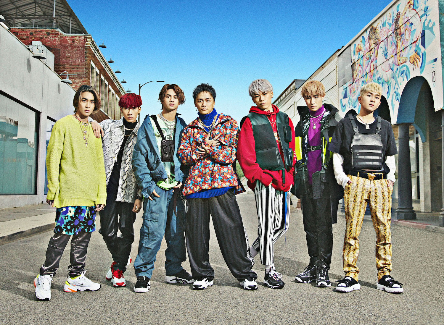 BALLISTIK BOYZ from EXILE TRIBE、1stシングル発売決定!各地でリリイベもサムネイル画像