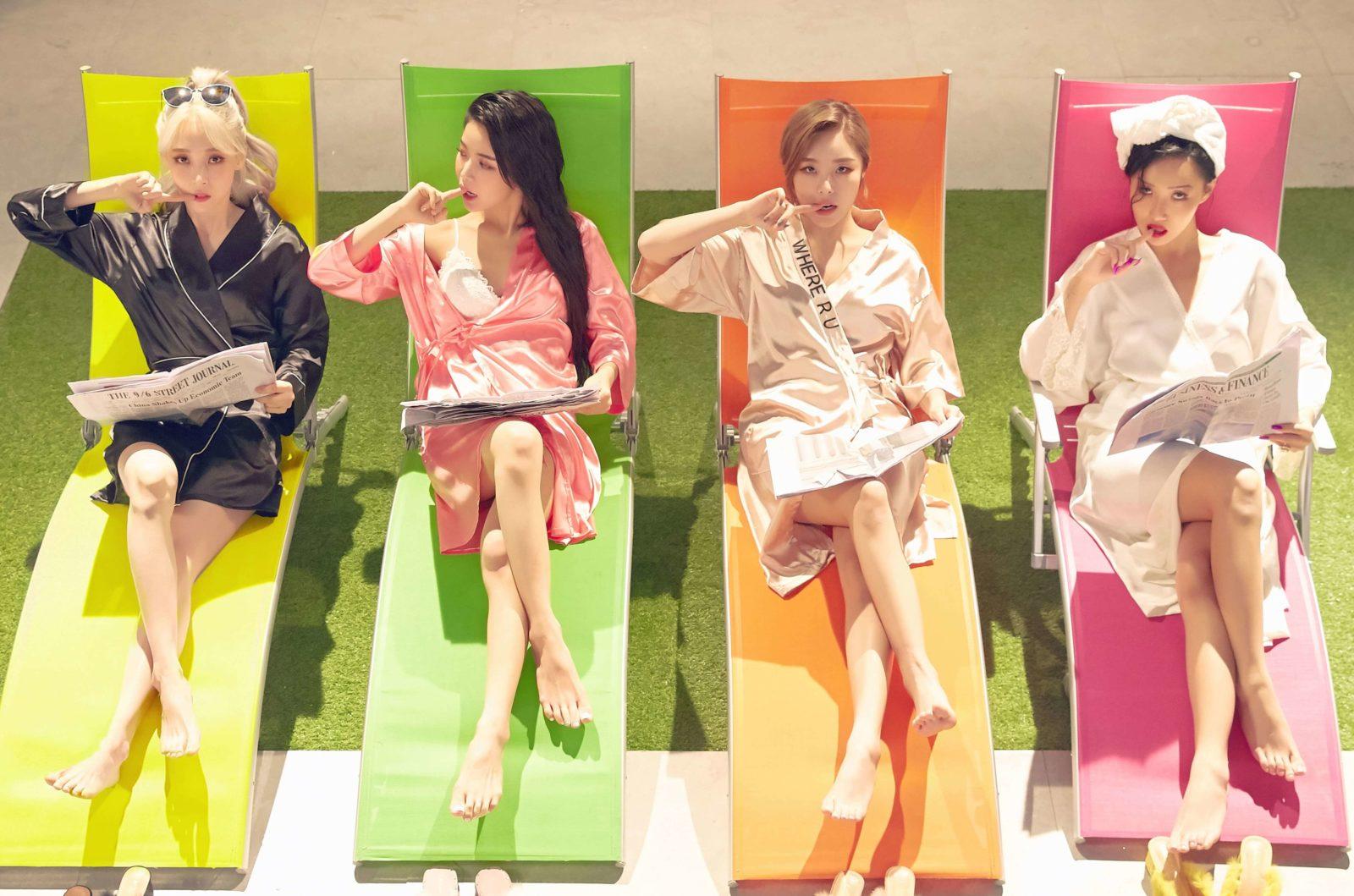 MAMAMOO「gogobebe -Japanese ver.-」のダンス動画が初公開サムネイル画像