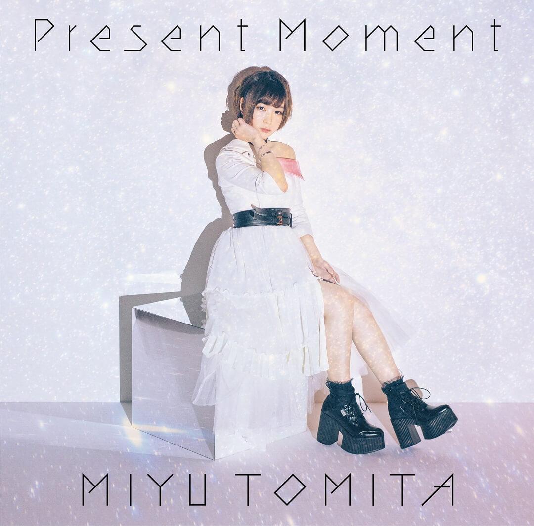 声優・富田美憂、ソロデビューシングル「Present Moment」のジャケット写真公開サムネイル画像