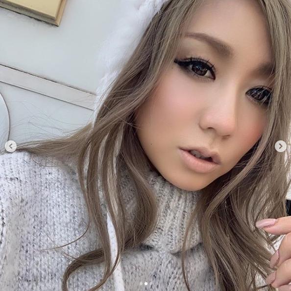 """倖田來未、14年前の""""オマージュ""""メイクSHOTに絶賛の声「年々可愛く」「肌が綺麗」サムネイル画像!"""