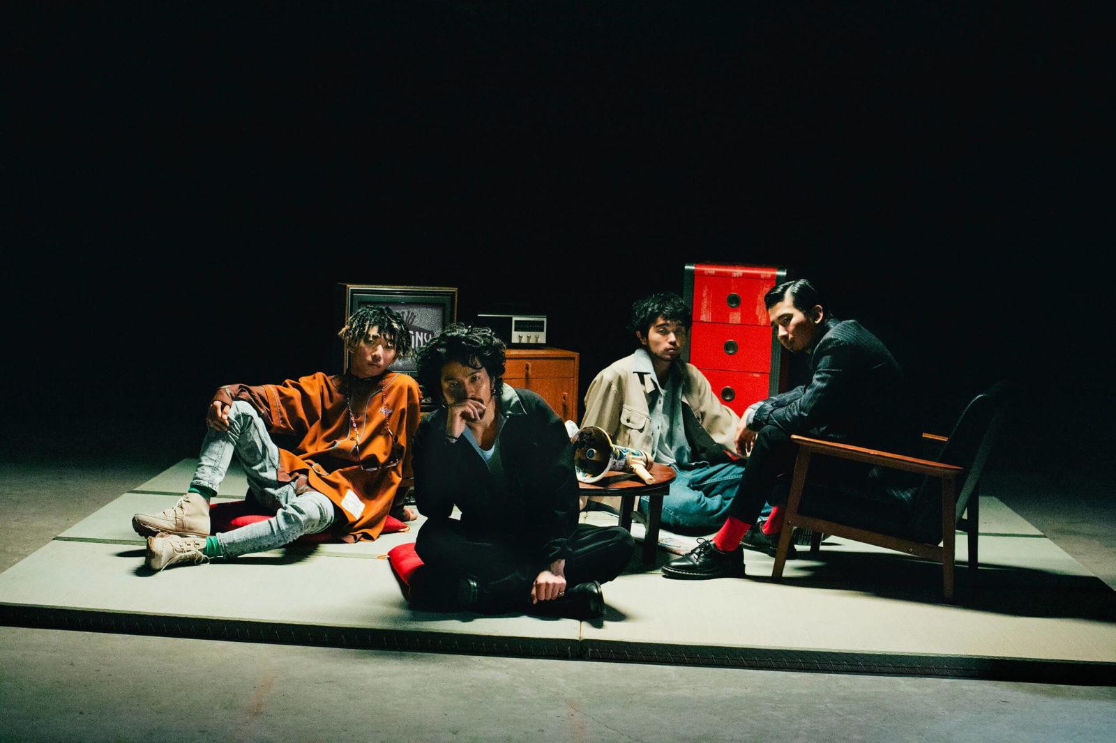 """""""時代の寵児""""King Gnuの最新ツアーを1月にWOWOWで放送決定サムネイル画像"""