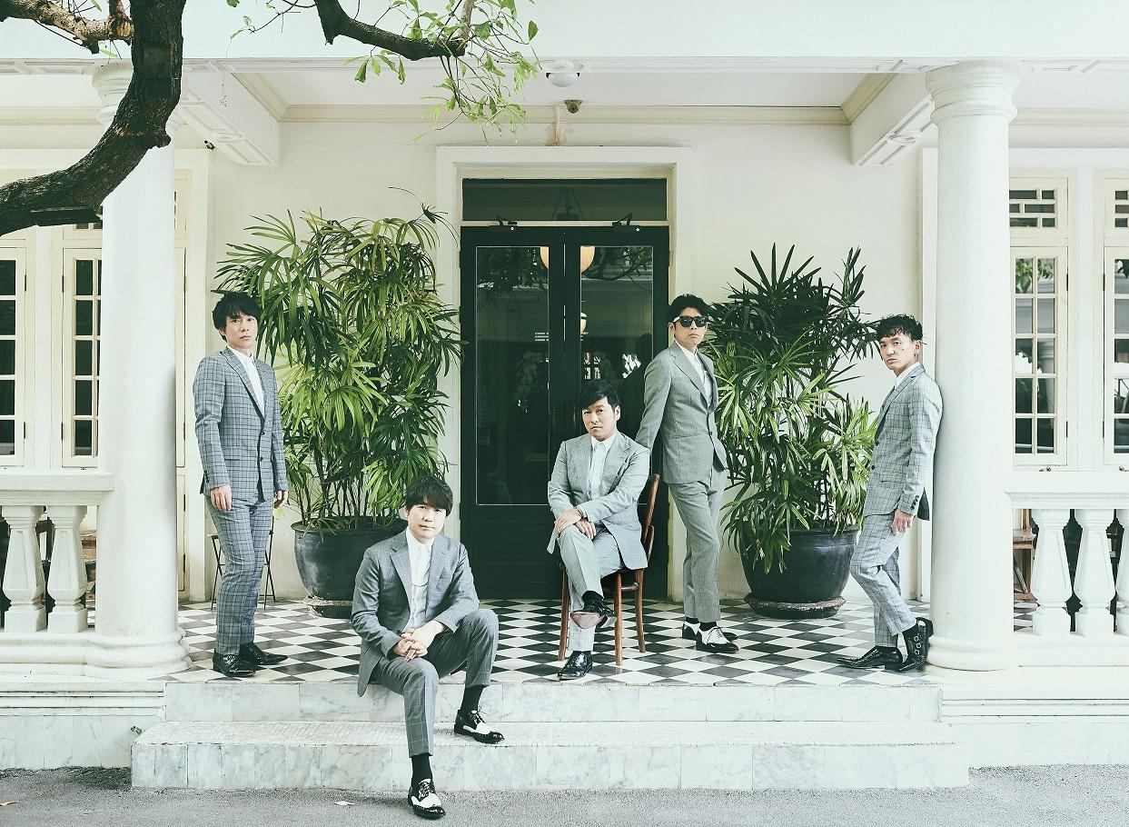ゴスペラーズ、グループ初・ビューティフルハーモニーなシングルコレクションのリリースが決定