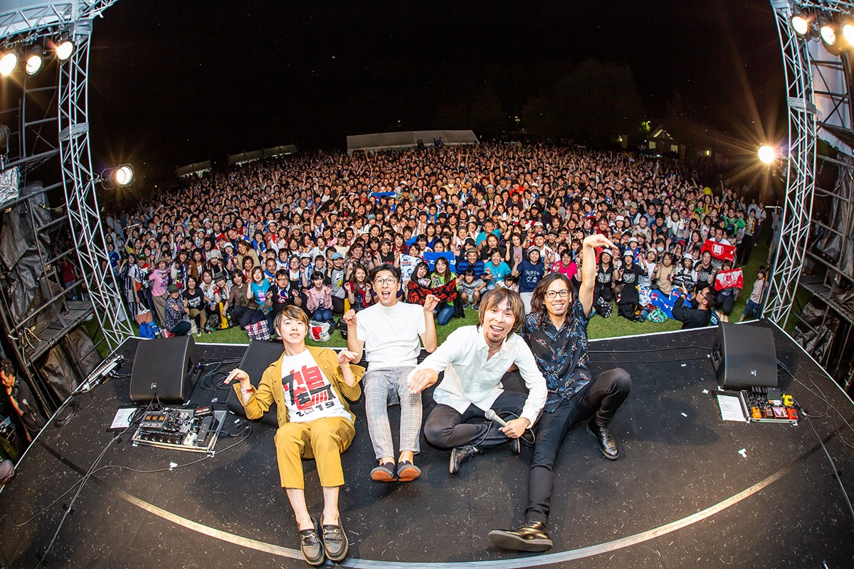 """ロックバンド・鶴(つる) """"鶴フェス2019"""" 開催で全国から11,000人が集結サムネイル画像"""