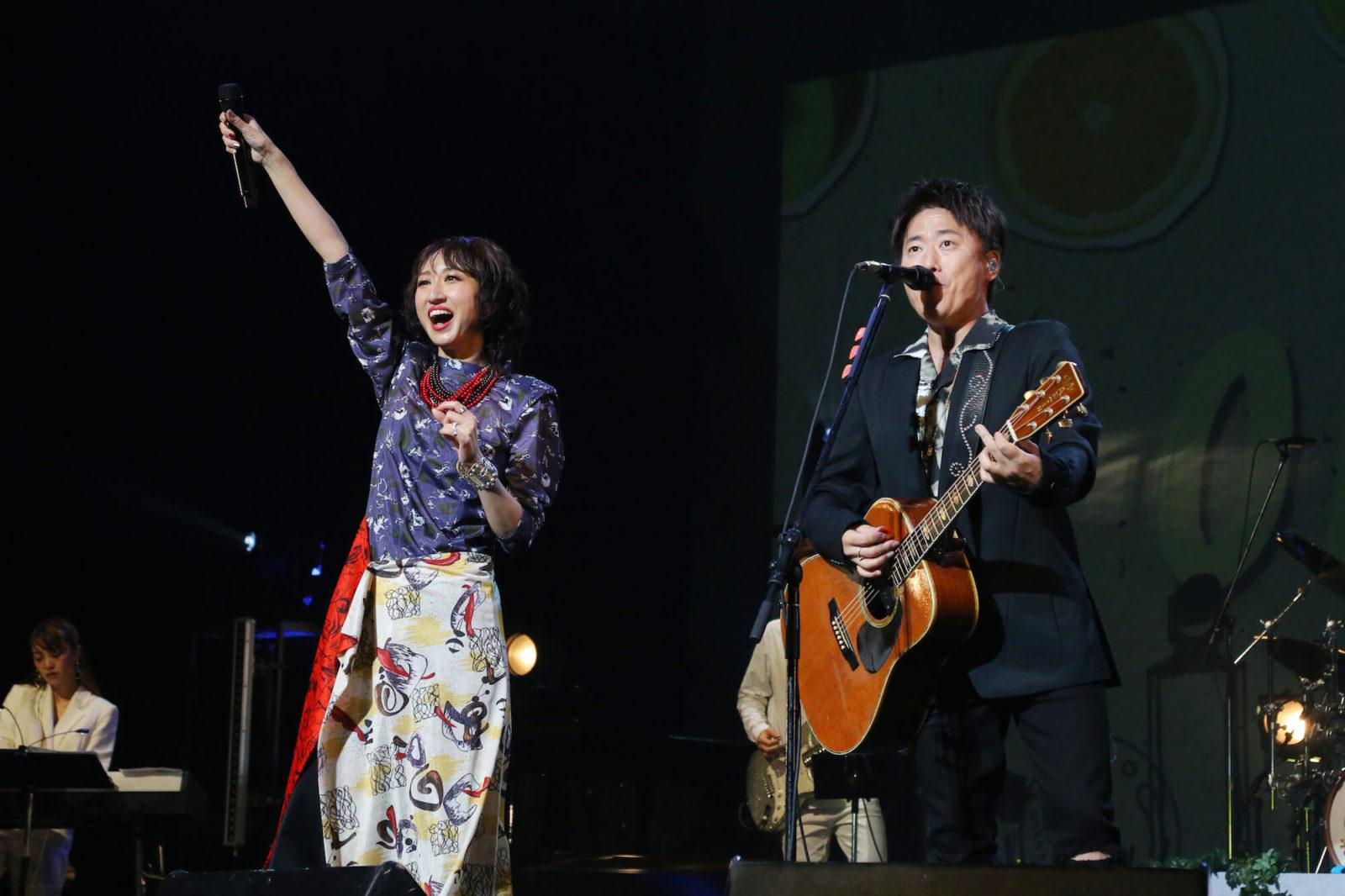Ms.OOJA 全国ホールワンマンツアー東京公演に、スぺシャルゲストとして小渕健太郎(コブクロ)が登場サムネイル画像