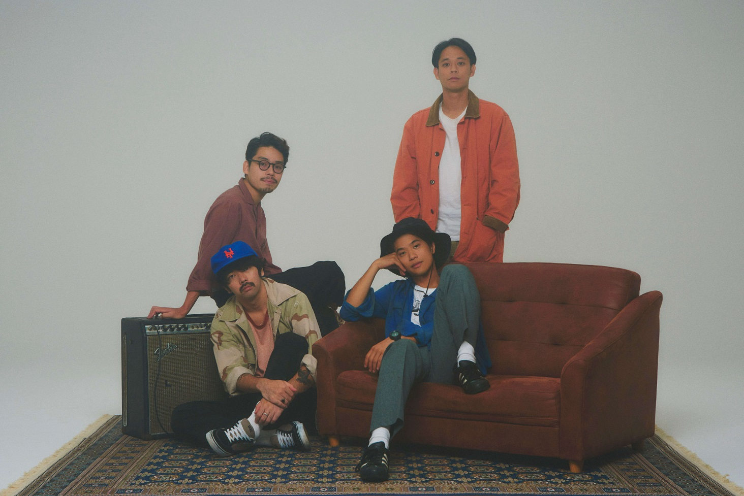 Yogee New Waves、4th e.p.リード曲「to the moon」MVが公開