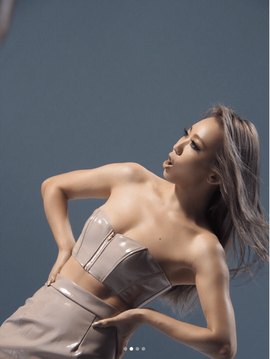 倖田來未、美ボディ際立つMV撮影写真公開に絶賛の声「スタイル良すぎ」「美脚!!!」