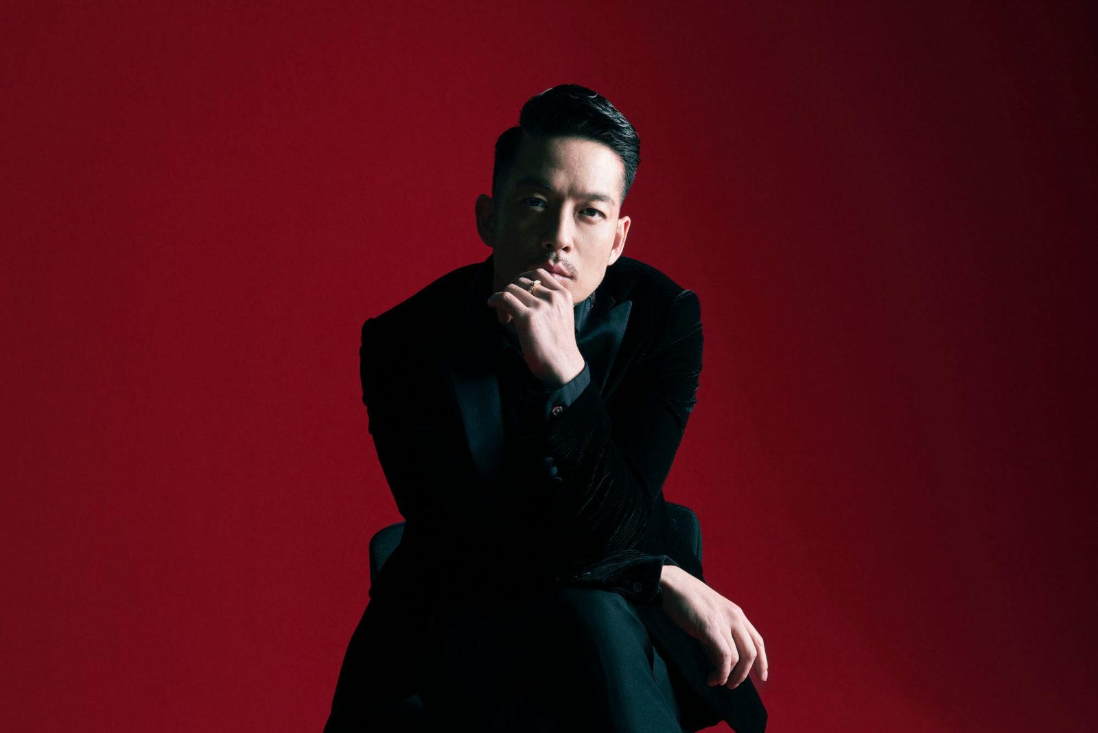 清木場俊介、渋谷に巨大ビジュアルが出現サムネイル画像